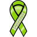 lymphoma awareness ribbon car magnet-500x500